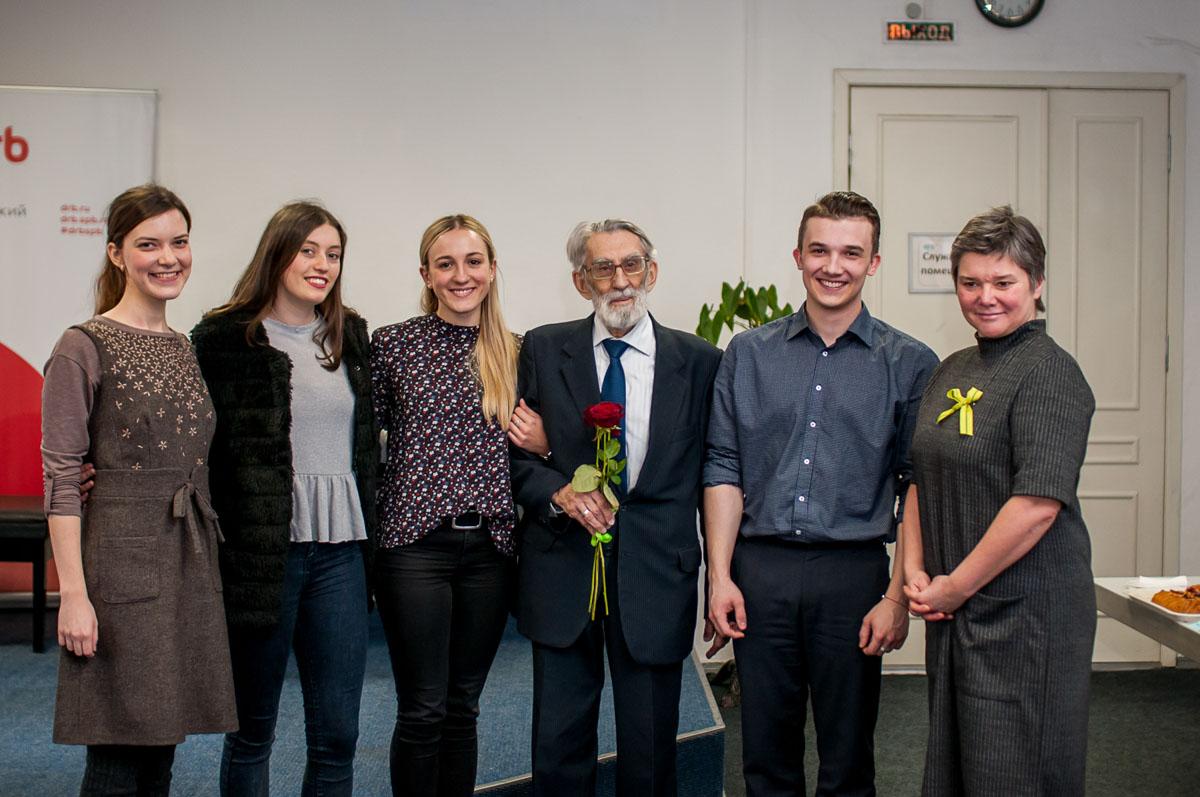 Немецкие студенты благодарят блокадников. Февраль2019