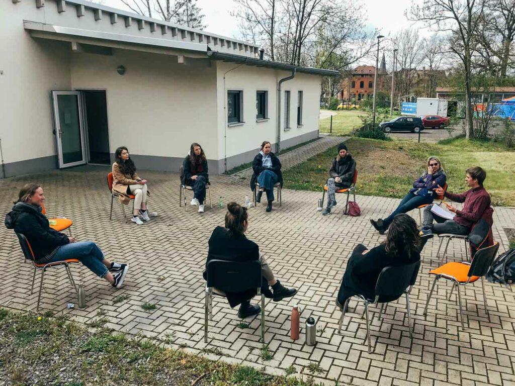 Встреча немецких волонтеров в г. Нордхаузен.